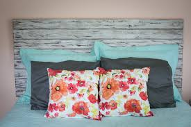 Ana White Rustic Headboard by Rustic White Queen Headboard Floating Headboard Distressed
