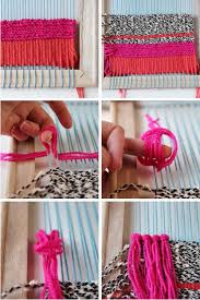 Step By For Making Your Own Diy Woven Wall Hanging
