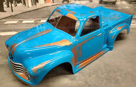 CUSTOM PAINTED BODY Rusty 50s Chevy For 1/10 RC Monster Truck ... Distressed Paint And Body Professional Rc Custom Bodies By 110 18th Scale Rc Absolute Truck Sickness Goldspec Traxxas Stampede Completion Rc4wd Gelande Ii Rtr Kit Wcruiser Set Rcredvit Vintage Rc10t Stadium Painted Andys Darkside Studio Arts Lexan Unbreakable Graphics Wraps In Inventory Buy Now Slash 2wd Hobby Pro Pay Later Fancing Bug Muddy Greenwb For 18 Vo In Toys Show Your Pride And Joy Owners Urc How To Your With Multiple Colors Pactra Series Wikipedia