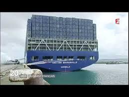 34 le bougainville le plus grand porte conteneurs du monde
