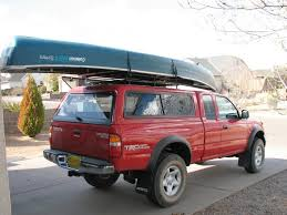 Canoe On Truck W/cap, Thule Tracker II Roof Rack System: ?s ... Diy Home Made Canoekayak Rack Youtube Sweet Canoe Kayak Stuff Rack For Truck Bed As Well Racks Trucks With 5th Wheel Boats Pinterest Tundratalknet Toyota Tundra Discussion Forum Retraxpro Mx Retractable Tonneau Cover Trrac Sr Ladder American Built Sold Directly To You Attractive 5 You Should Have No Problemif Getting Wood Plans Wooden Darby Extendatruck Carrier W Hitch Mounted Load Extender
