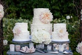 Dahlia Wedding Cakes By Sweet And Saucy
