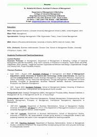 Sample Resume For Assistant Professor Job Best Perfect Rh Bluegenie Co MBA Objective Statement Samples College Students