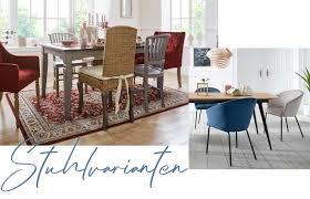 stuhlmix dein esstisch mit verschiedenen stühlen baur