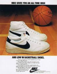 The Nike BlazerNikes First Ever Basketball Shoe Circa 1972