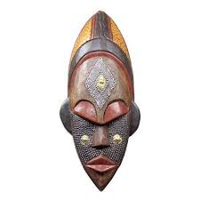 Ivoirian Wood African Mask Dan Beauty