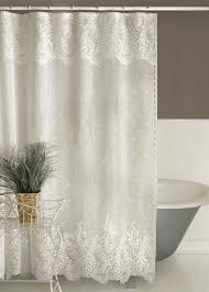 Pink Ruffle Curtains Uk by Best 25 Lace Shower Curtains Ideas On Pinterest Lace Ruffle