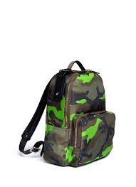 Oakley Kitchen Sink Backpack Camo by Valentino Fluo Camouflage Print Backpack In Green For Men Lyst