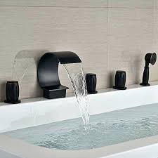 rocky mountain hardware waterfall tub fillerwaterfall faucet with