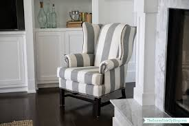 Pottery Barn Napoleon Chair Slipcover by Grey Wingback Chair Natural Dark Grey Wing Chair Slipcover For