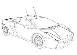Unbelievable Police Car Coloring Pages Free Printable Lamborghini Aventador Full Size