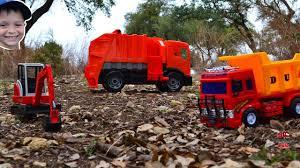 100 Dump Trucks Videos Truck For Children L Bully Truck Messes Up Excavator