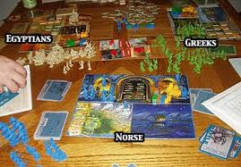 Review Of Age Mythology The Boardgame