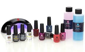 Sally Hansen Led Lamp Walmart by 7 Of The Best At Home Gel Polish Kits