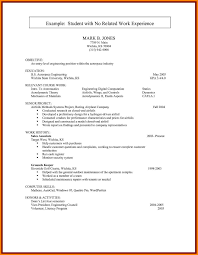 College Graduate Resume Examplescollege Student Examples No Experience Best Of Templates For Students With