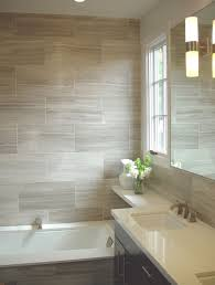 amazing wood look porcelain tile in bathrooms