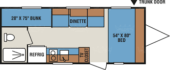 Travel Trailer Floor Plans With Bunk Beds by All Travel Trailer Rentals King U0027s Campers Wisconsin U0027s Most