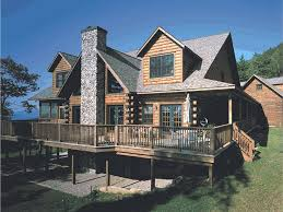 Mountain Log House Plan 031L 0013