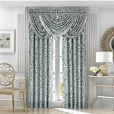 J Queen New York™ Sicily Window Curtain Panels and Valance in