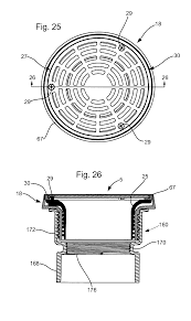 Wade Floor Drains Uk by Patent Us7735512 Floor Drain Installation System Google Patents