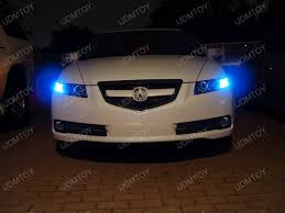 2007 acura tl led corner lights 10000k d2s hid headlights 10000k