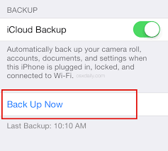 Backup to iCloud Manually from an iPhone or iPad