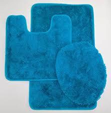 Royal Blue Bath Mat Set by Amazon Com 5th Avenue Turquoise 3 Piece Bathroom Rug Set Bath