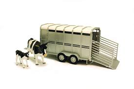 Amazon.com: Britains Big Farm 42709 1:16 Scale Cattle Trailer With ... Farm Toys For Fun A Dealer Toy Cattle Hauling Trucks Wyandotte Dodge Cab Great Plains Cattle Ranch Tt Truck 40s V Collectors Official Tekno Distributors Suppliers 12002 Livestock Road Train Highway Replicas Model Trucks Diecast Tufftrucks Australia Rural Toys Getyourpitchforkon Wooden Toy B Double Kenworth And Youtube 120th 28 Sundowner Trailer By Big Country