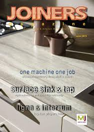 Corian 810 Sink Cad File by Joiners Magazine June 2013 By Magenta Publishing Issuu