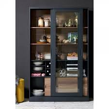 vitrine jimme schwarz vitrine esszimmer möbel