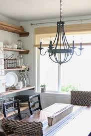 Dining Room Lighting Home Depot by New Dining Room Light The Wood Grain Cottage