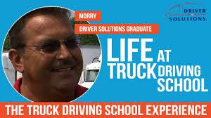 Life At Trucking School -