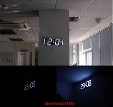 Innovative Decoration Modern Digital Wall Clock Cool A Limonchello Info