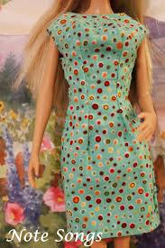 note songs barbie mondays little green dress