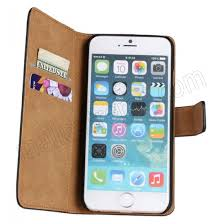 Pink Luxury Flip Wallet Case Genuine Leather Phone Covers for