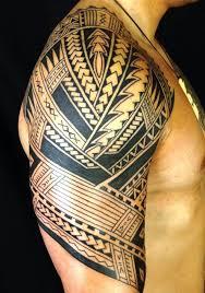 Best 25 Tribal Arm Tattoos Ideas On Pinterest