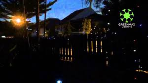 Ge Itwinkle Light Christmas Tree by Greenmax Lighting Solar Powered Led String Lights Youtube