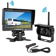 LeeKooLuu Wireless Backup Camera 7 Monitor System For RV/SUV/Van ... Podofo 7 Wireless Monitor Waterproof Vehicle 2 Backup Camera Kit System The Newest Upgraded Digital Amazoncom Yada Bt53872m2 Matte Black Best Aftermarket Backup Cameras Back Out Safely Safewise Ir Night Vision Car Phone Reversing For Trucks Garmin Bc 30 Truck Camper 010 8 Of 2018 Reviews Rv Welcome Quickvu Features Benefits Ip69k With 43 Dash