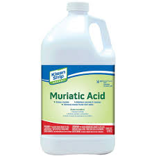 klean 1 gal green muriatic acid gkgm75006 the home depot
