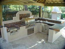 Outdoor Kitchen Design Kitchens And L Shaped Ideas Designed With Foxy Pattern