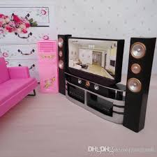 hi fi 1 6 tv home theater cabinet set combo for blythe for barbie