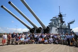 Uss Indianapolis Sinking Timeline by Former Crewmembers Return To Celebrate The 30th Anniversary Of The