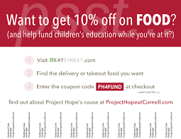 EatStreet Coupon - Project Hope At Cornell Eat 34 Coupon Walgreens Photo Coupons December 2018 Juvederm Voluma Xc Albertville Minneapolis Concord Toyota Aaa Discount Shopping Dollars Card Performance Car Show Code Henri Bendel Promo Stillwater Resort Branson Mo Boat Rental Fortune Cookie Comedysportz Chicago Champions On Display Do Nurses Get Off Sale Prices In Sleep Number Man Laser Quest Tulsa Ok Textbook Brokers Free Pokeballs Pokemon Go Accrued Market Fgrance Shop Uk Jpedy Coupon Book Walmart Fashion Fair Online Codes