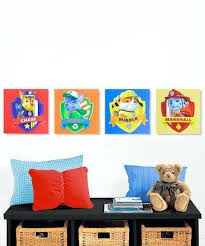 Paw Patrol Room D Framed Printed Paw Patrol Picture Painting