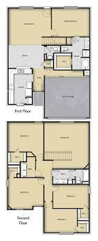 5 br 2 5 ba 2 story floor plan house design for sale houston tx