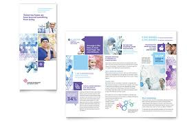 Cancer Treatment Tri Fold Brochure Template Word Publisher