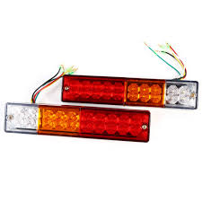 2pcs 12V/24V 20 LED Tail Rear Reverse Lights Turn Ute Truck Trailer ... Vehicle Lighting Ecco Lights Led Light Bars Worklamps Truck Lite Headlight Ece 27491c Trucklite Side Marker Lights 12v 24v Product Categories Flexzon Page 2 Led Amazing 2pcs 12v 8 Leds Car Trailer Side Edge Warning Rear Tail 200914 42 F150 Grill Bar W Custom Mounts Harness T109 Truck Light View Klite Details New 6 Inch 18w 24v Motorcycle Offroad 4x4 Amusing Ebay Led Lighting Amazoncom Rund 35w Cree Driving 3 Flood Off Road 52 400w High Power Curved For Boat