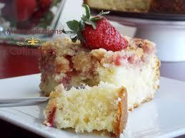dessert aux fraises gateau aux fraises coffee cake le cuisine de samar