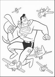 Astonishing Superman Printable Coloring Pages Boys With