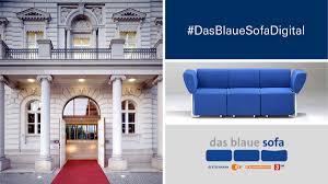 mit neuem konzept das blaue sofa zur frankfurter